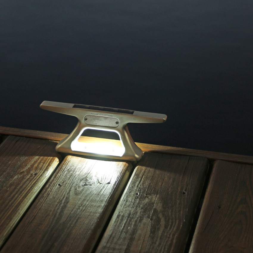 Rectangle Solar Dock Post Lights Mc Docks