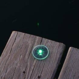Solar Deck Dot Lights The Smallest Size Light For Decks