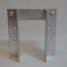 Large Vertical Bumper Brackets for Docks