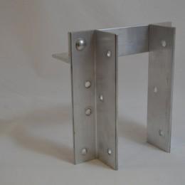 Aluminum Vertical Bumper Brackets