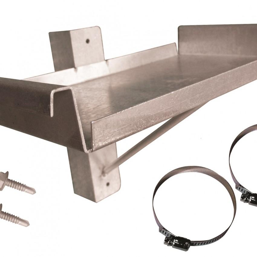 Aluminum Marine Battery Holder Tray