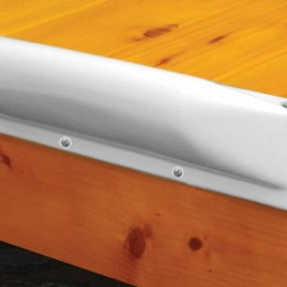 Dock Pro Vinyl Boat Dock Bumpers in White