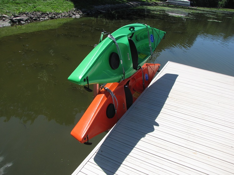 Dock Sides Vertical Kayak Rack