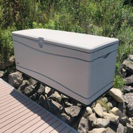 Dock Box Storage Mount