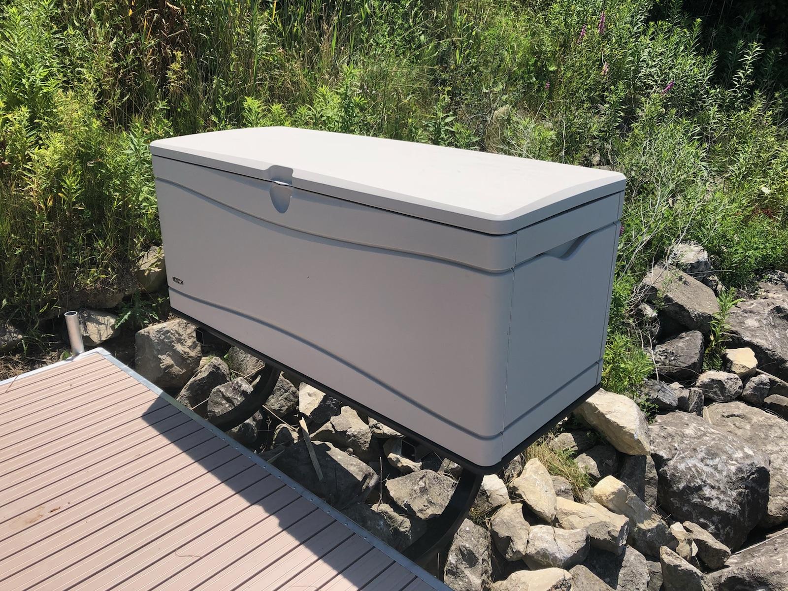 Dock Sides Dock Box Storage Mount